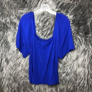 A new day royal blue blouse extra large